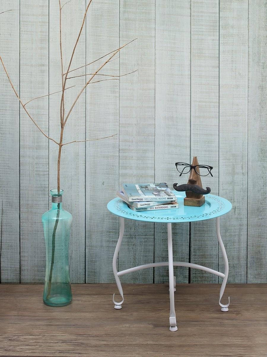 Lujo Muebles De Mesa De Café Otomana Ronda Ornamento - Muebles Para ...