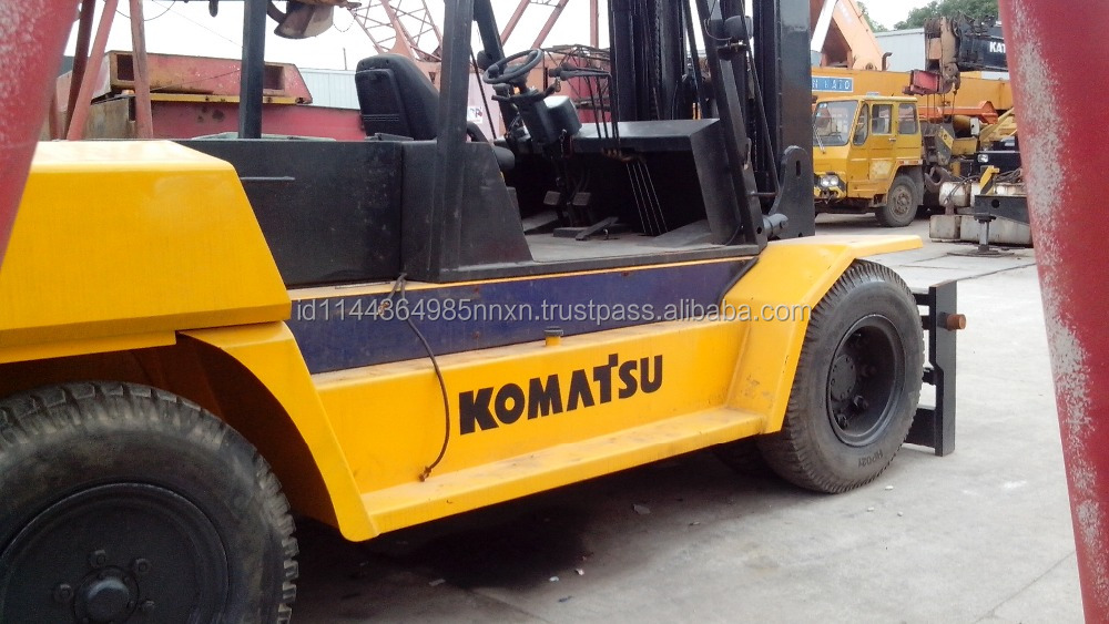 15 ton komatsu used forklift Japan's original production for sale in shanghai china