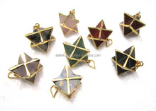 मिक्स Electroplated <span class=keywords><strong>Merkaba</strong></span> स्टार पेंडेंट: Electroplated आभूषण: <span class=keywords><strong>merkaba</strong></span> स्टार पेंडेंट
