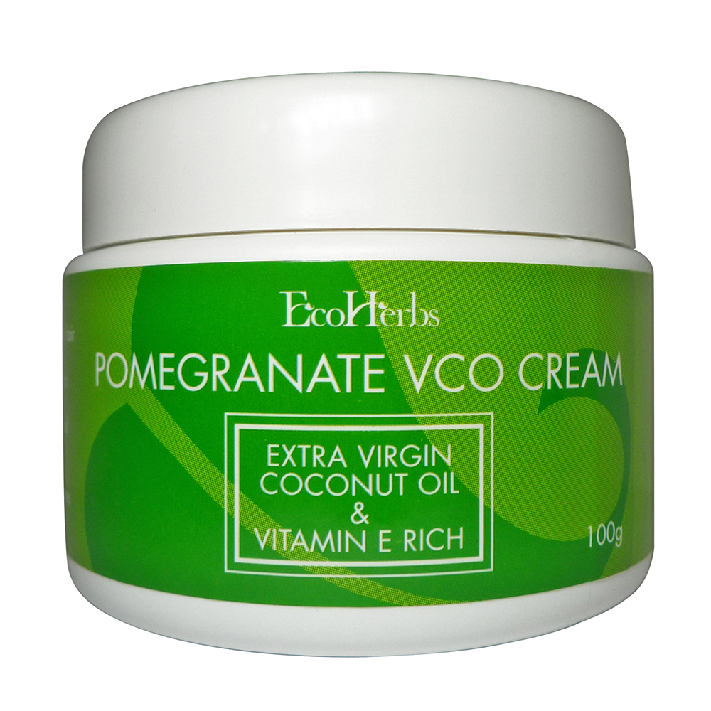Product Details Of Ecoherbs Pomegranate Vco Cream (rich In Vitamin ...