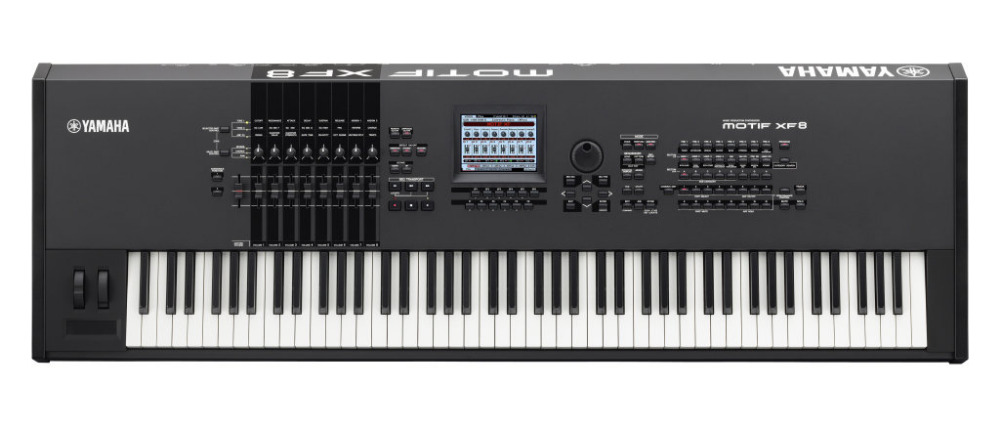 For Yamahaa Motif XF8 synthesizer workstation keyboard, musical instrument