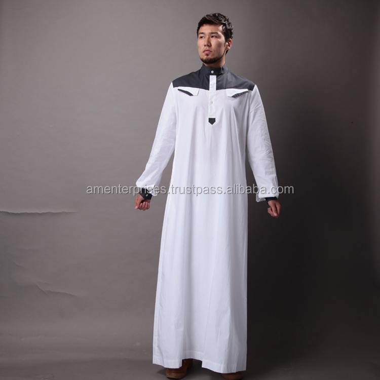 Zhuhaitf Fashion National Muslim//Middle Eastern//Islamic Mens Full Length Robes