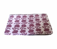 cotton indian handmade floral block printed fabric