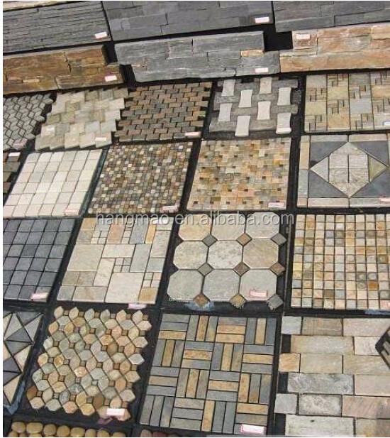 Mur de pierre de granit conception de granit motifs en for Fabriquer table mosaique