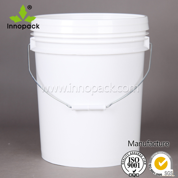 Round 5 Gallon Liter food grade plastic bucket