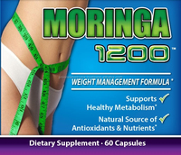 ANTI AGING Nutritional Supplement 1200mg Pure MORINGA CAPSULES
