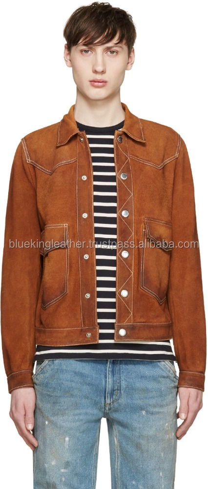 Mens Camel Leather Jacket, Mens Camel Leather Jacket Suppliers and ...