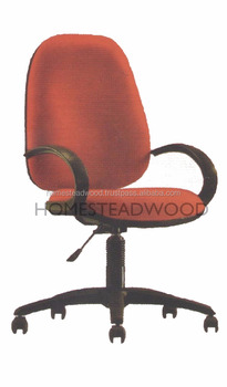 Ergonomic Typist Office Chairs With Wheels And Armrest