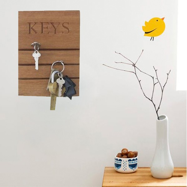 High Quality Home Solid Wooden Key Holder