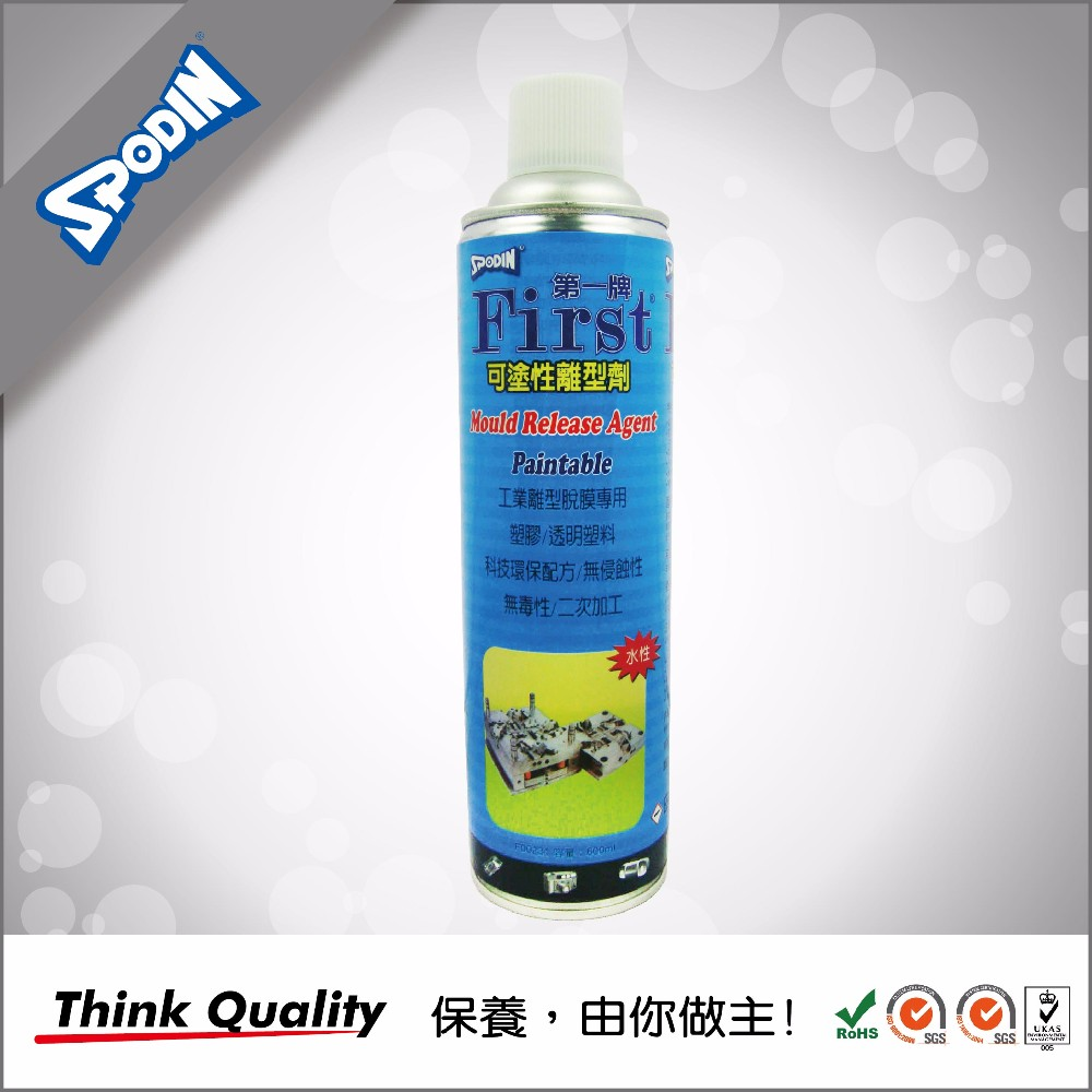 Spodin Mold Release Cleaner Lubricant Spray