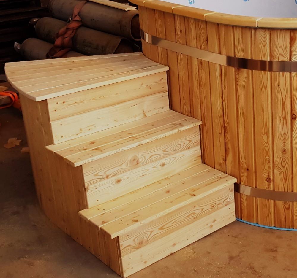treppe 3 stufen holz – wohn-design