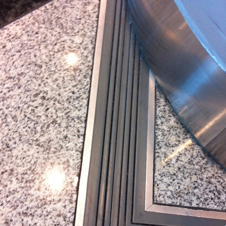 Preformed Waterproof Expansion Joint In Concrete Slab