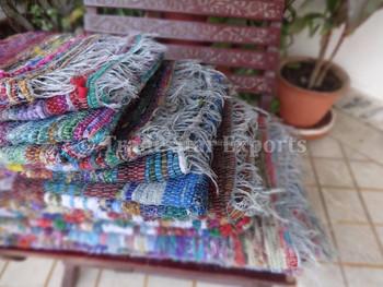 indian chindi dhurrie rugs carpets handloom art floor carpet vintage rag rug