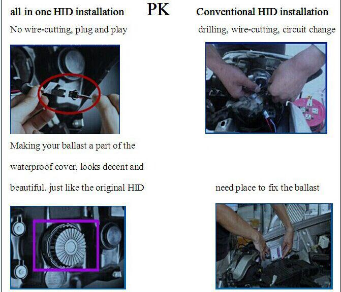 New Automobiles Parts Xenon Hid Kits China All In One Hid Head ...