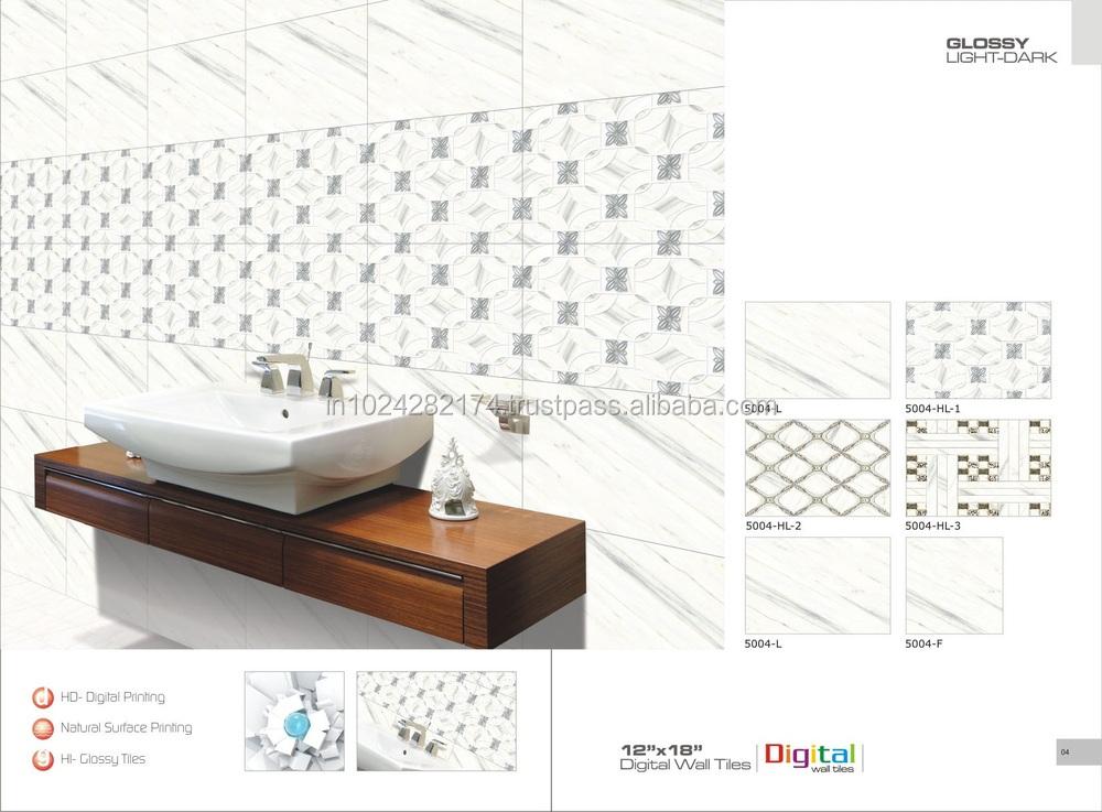 Hot Sale Bathroom 3d Inkjet Digital Ceramic Wall Tiles For Nigeria Projects 5005 Buy Cheap