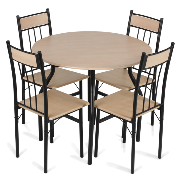 modern dining room table png. Metal Cheap Modern Dining Set Table And Four Chairs Carmen 20011 Oak Color  Buy Product on Alibaba com
