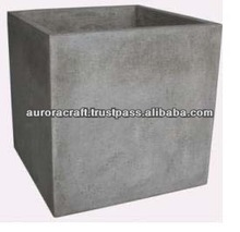 light cement planter