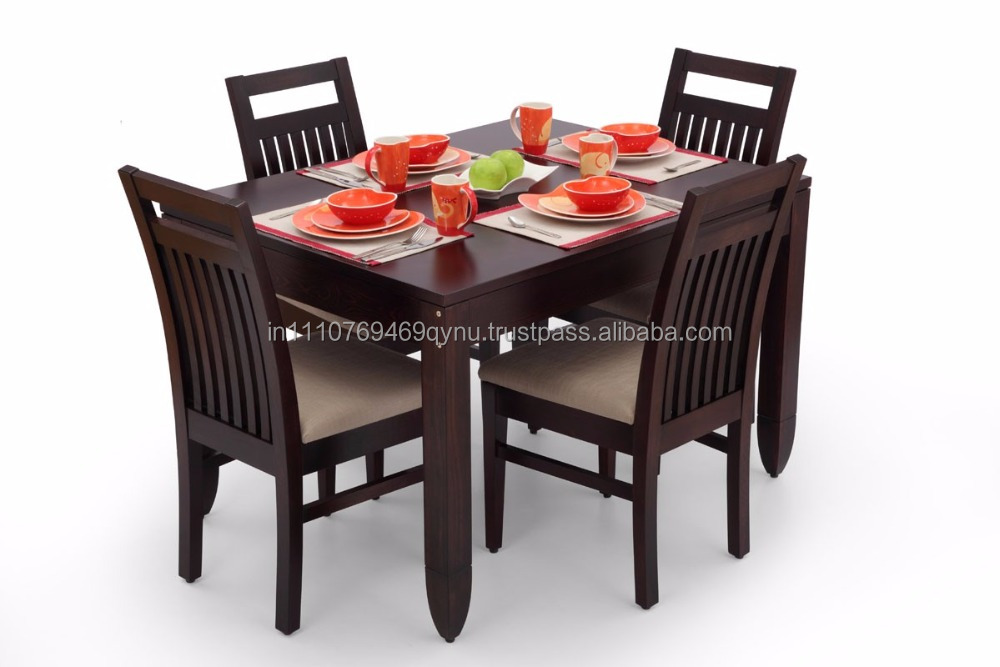 dining room tables for four. ekbote furniture dining room four seater wooden table and chair set - buy set,wooden set,dining tables for n