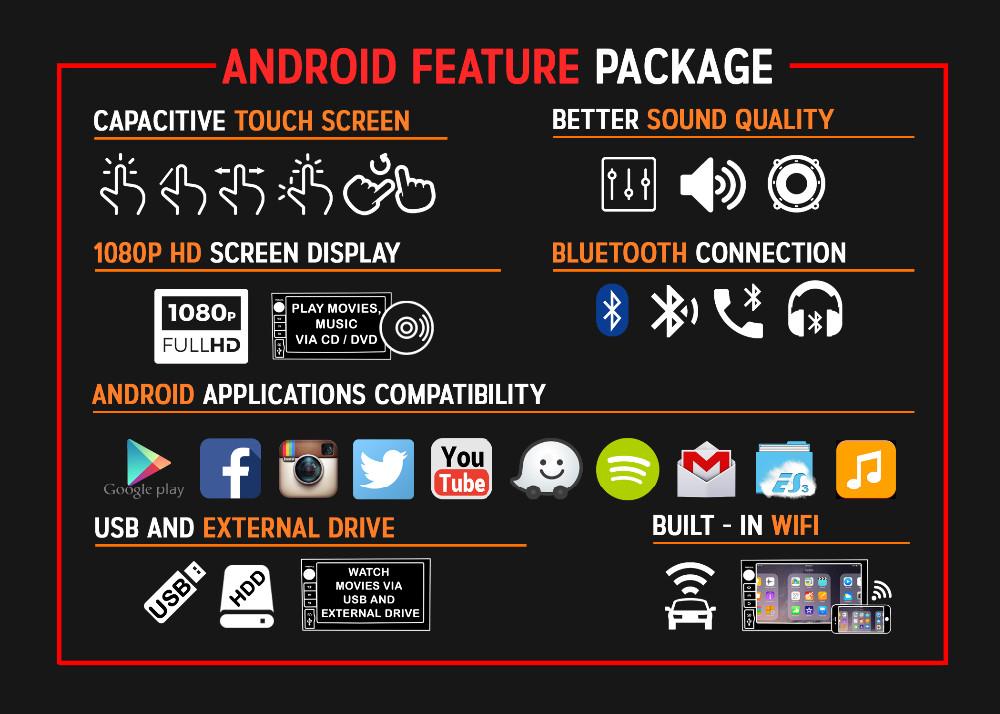 Oem Android Head Unit 8