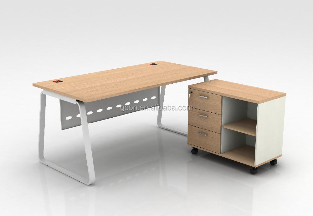 Houten Bureau Kantoor : L vormige executive houten bureau kantoor baas computer tafel