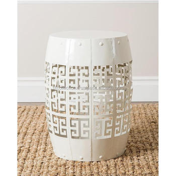 White Metal Round Garden Stool  sc 1 st  Alibaba & White Metal Round Garden Stool - Buy Garden Stool And Tool Set ... islam-shia.org