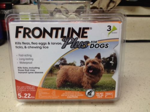 Frontline Plus For Ticks, fleas and Pest Control For small Dogs