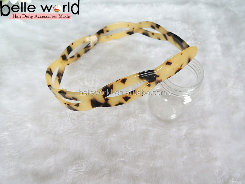Wholesale Parcelona French Twist Tortoise Shell Hair Head Band Headband