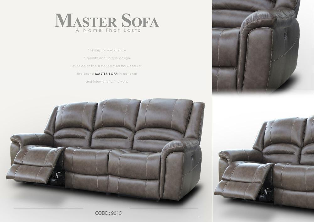 Leather Reclining Sofa #9015 - Buy Sofa,Leather Sofa,Recliner Product on  Alibaba.com