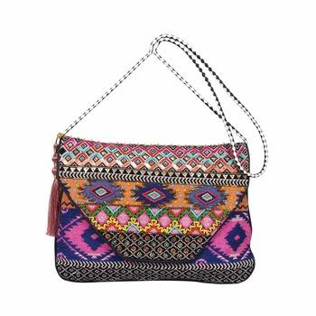 Banjara Hand Embroidery Canvas Clutch Gypsy Hobo Tote Ibiza Clutch