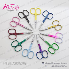 "Adjustable Tension 3.5"" Cuticle Scissors/ Curved Nail Scissors/ Manicure Tools & Implements"