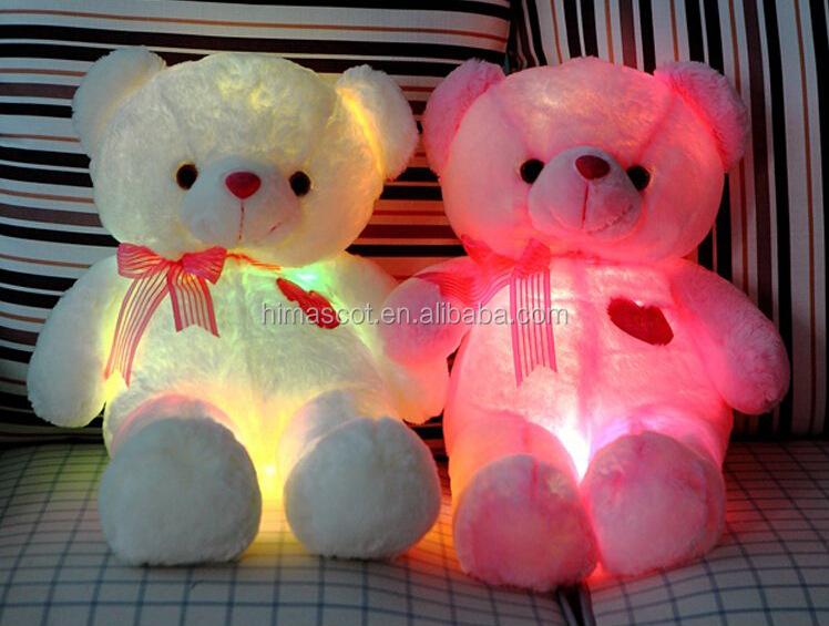 Hi Toy Bear,Bear Toy,Light Up Teddy Bear Plush Toy