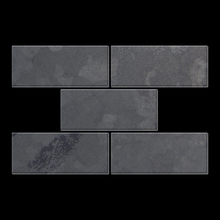 Mosaic massiv metal Raw Steel mill grey 1,6mm thick Article Subway-RS Collection Subway by ALLOY