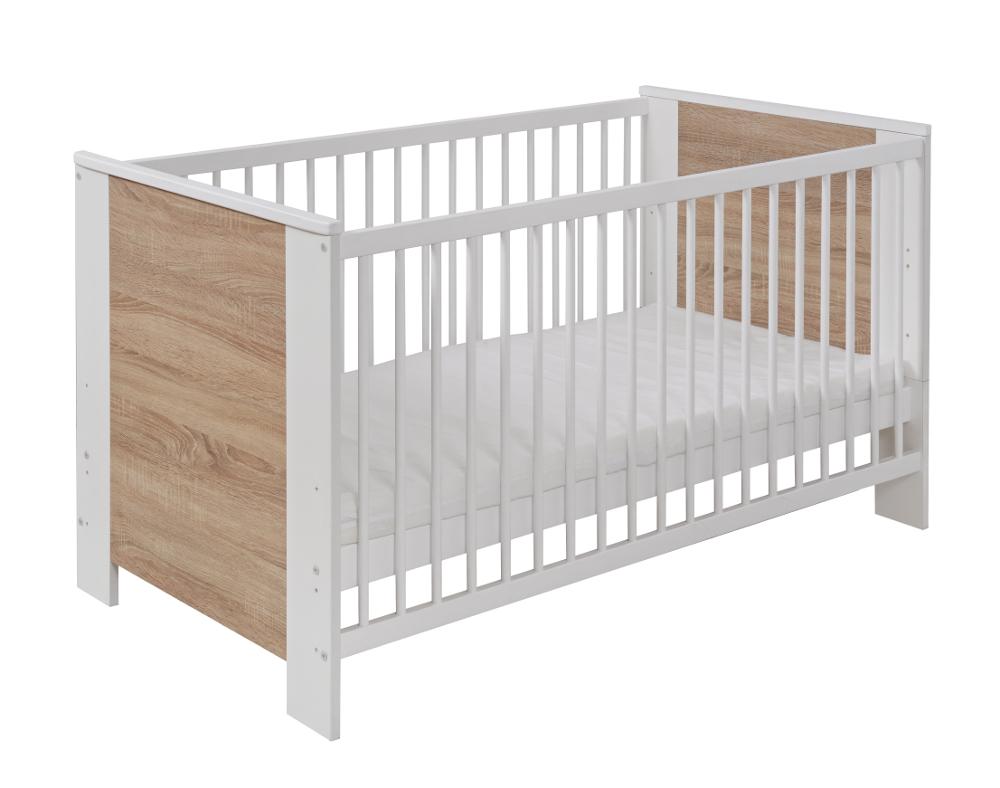 Blanco N Sonoma Cuna Para Bebé Adulto Cama Infantil De Madera De ...