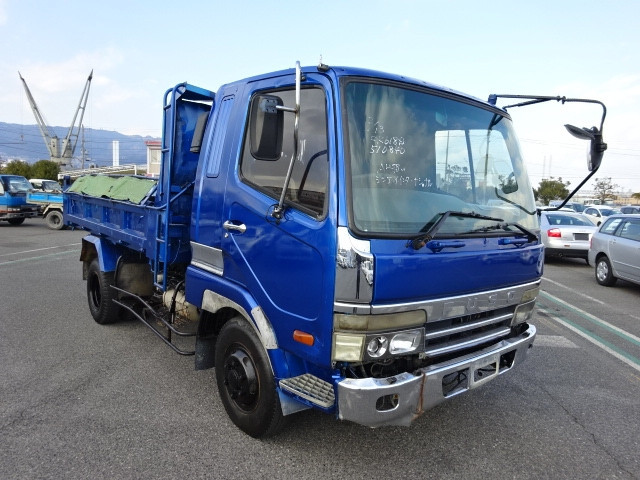 1998 Mitsubishi Fuso Fighter Mignon 4 Tons Dump Truck Yk/fh227cd ...
