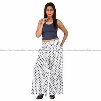d3a1e17389ac New Ladies Wear Floral Print Trousers Loose Wide Leg Lounger Fashionable  Summer Palazzo Pants