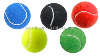 Professional Tennis Ball Orange Color Tennis Balls Purple Color