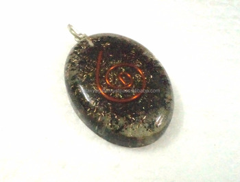 Black tourmaline oval shape orgone pendant wholesale orgone chakra black tourmaline oval shape orgone pendant wholesale orgone chakra reiki pendants for orgonite healing mozeypictures Images