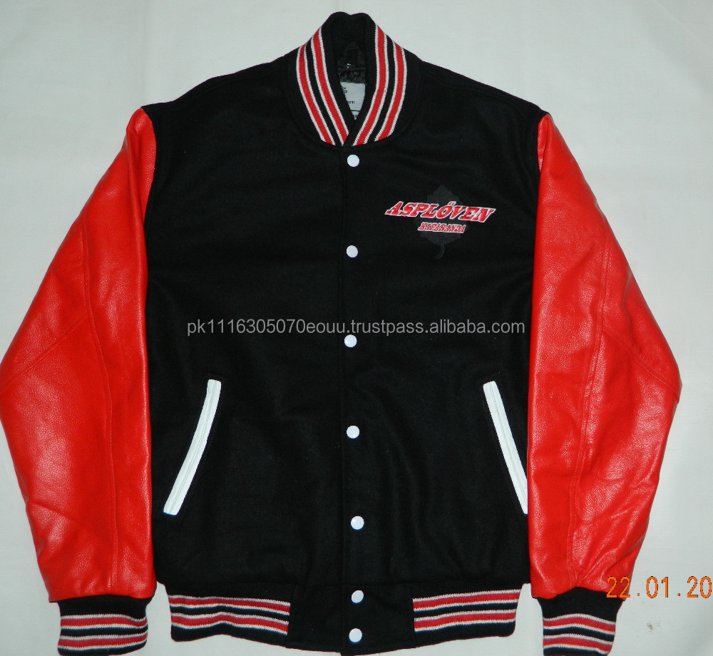 Beautifully Designed Custom Varsity Jackets With Chenille Patches, Logo Embroidered, With Different Team Name/AT NOKI WEARS