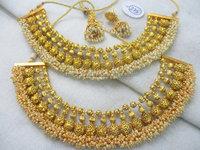 Indian bollywood jewelry - Indian ethnic jewelry - Imitation jewellery - one gram gold jewellery