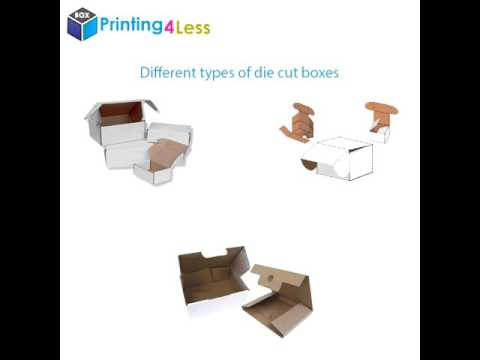 Custom Die Cut Boxes | Die Cut Boxes Wholesale