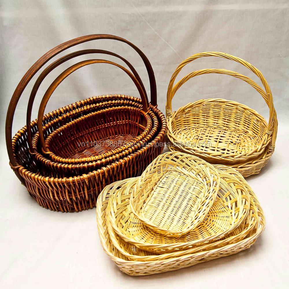 Small Round Wicker Baskets, Small Round Wicker Baskets Suppliers and ...