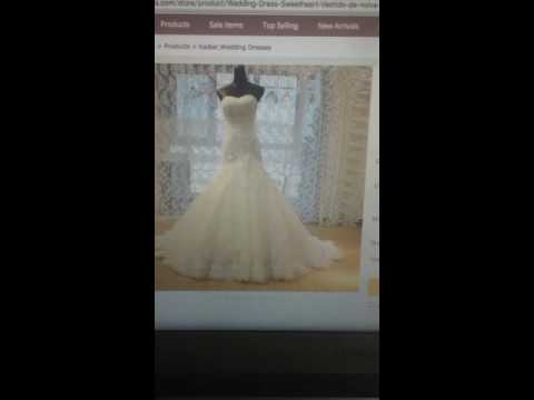 White/Ivory Plus Size Mermaid Wedding Dress For Girls Robe De Mariage Custom Size Size 2 4 6 8 10 12