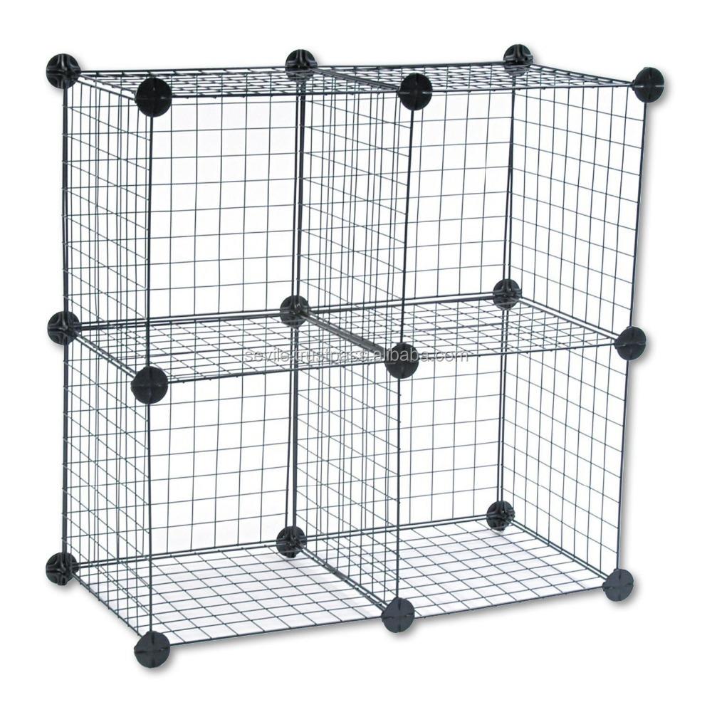 New 4 Wire Cube Storage Set - Buy Storage Set,Cube Storage Set,Wire ...