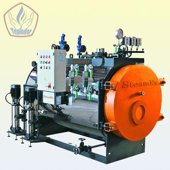 Steam Fire-tube Two-way Boilers Steamex 1000 Kg / H - Buy Industrial ...