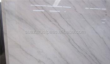 Poliert Ziarat Weiss Fliesen Grau Farbe Marmor Fliesen Weiss Farbe