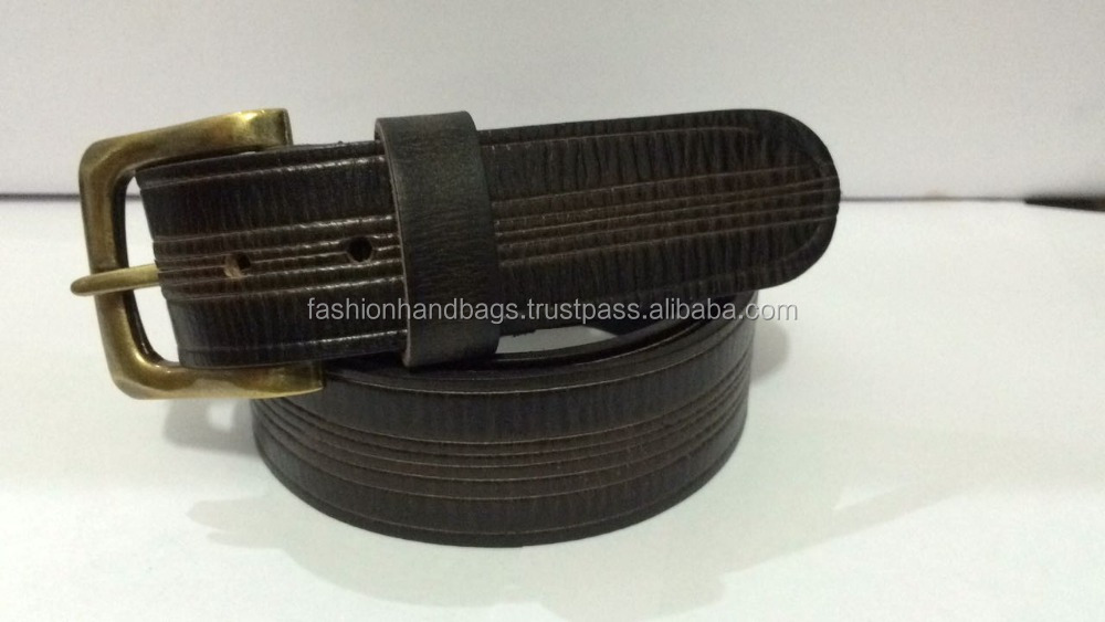 High quality Genuine leather belts manufacturer