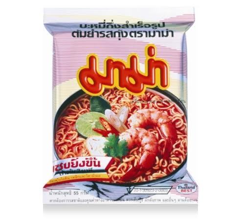 TOM YUM KOONG INSTANT NOODLES THE BEST OF THAILAND
