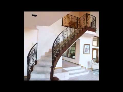 Wrought Iron Stair Railings # Antique Wrought Iron Stair Railings