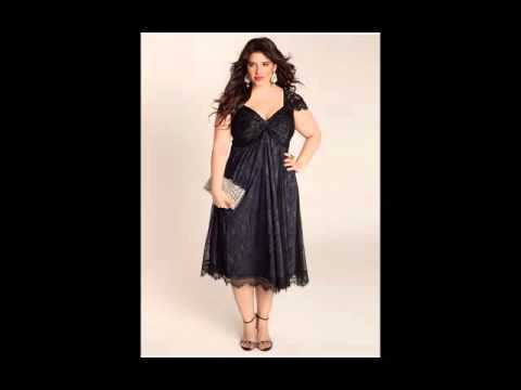 Plus-Size Cocktail & Party Dresses Picture Collection