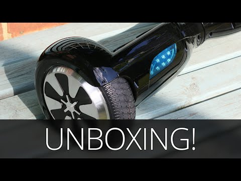 Self Balancing Scooter Unboxing & Test - 2 Wheel Electric Hoverboard! Swegway/Monorover/Segway)
